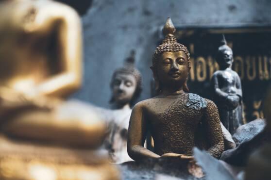 Buddha Statues in Bangkok Thailand