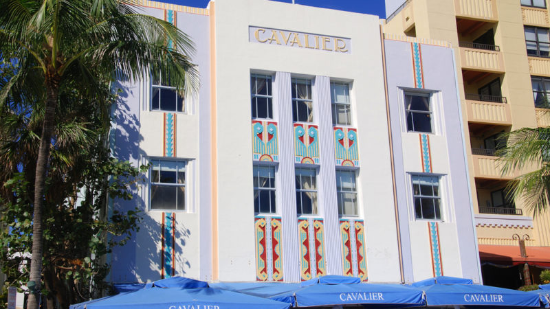 Art Deco Buildings Miami