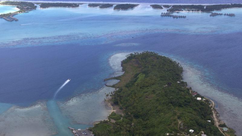 Helicopter Ride Bora Bora