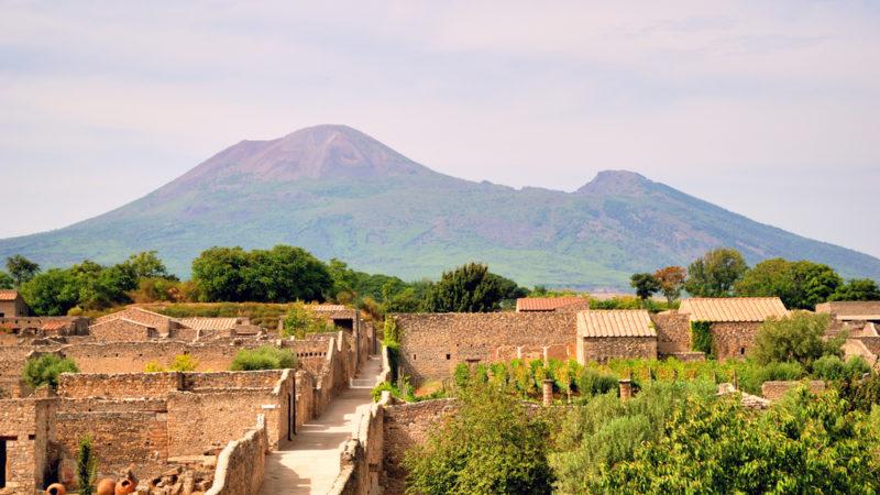 Mount Vesuvious Italy