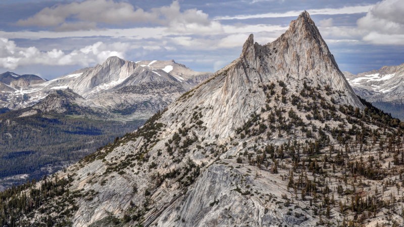Cathedral Peak Yosemite National Park