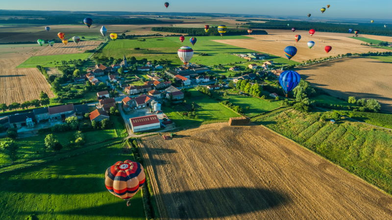 Hot Air Balloon France