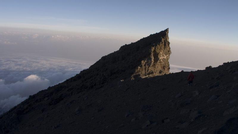 Meru Peak Himalayan Mountains