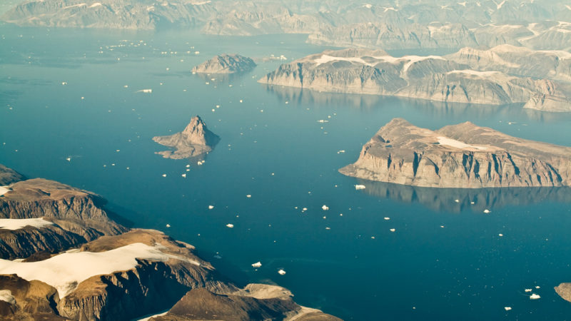 Greenland Aerial View