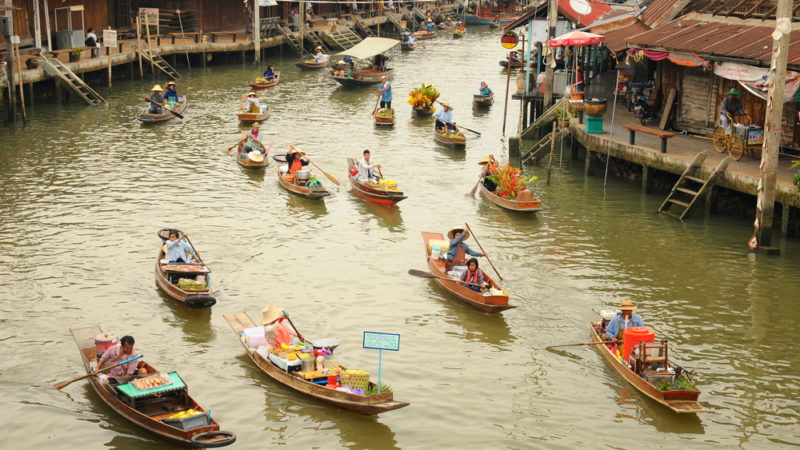 Bangkok, Thailand Canal