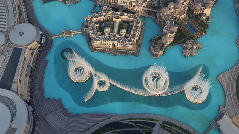 Burj Khalifa Fountain Dubai