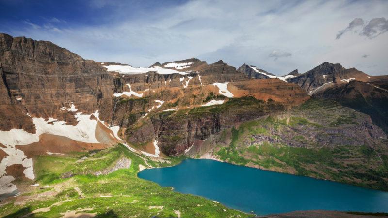 Cracker Lake Glacier National Park