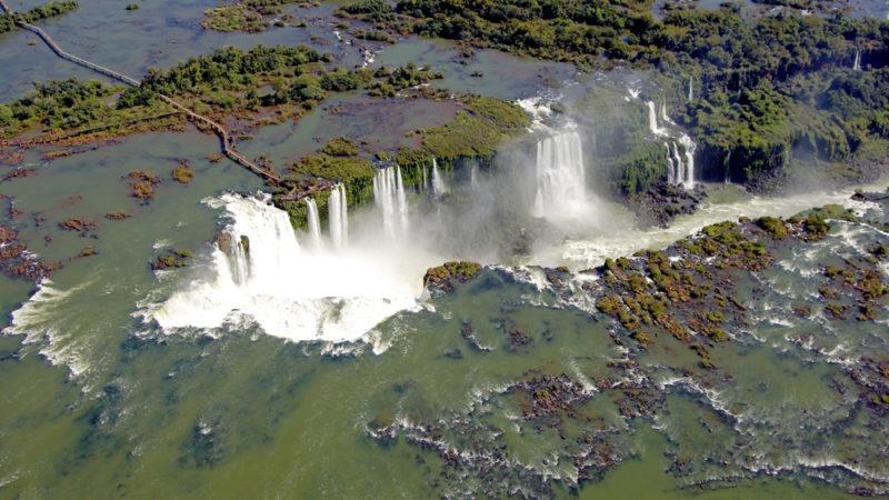 Iguazu Falls Aerial