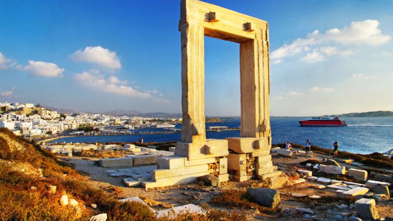 Portara Gate, Naxos Island - European Islands