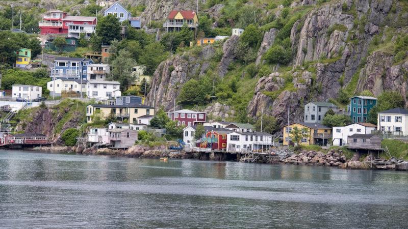 Signal Hill St. Johns Newfoundland Canada