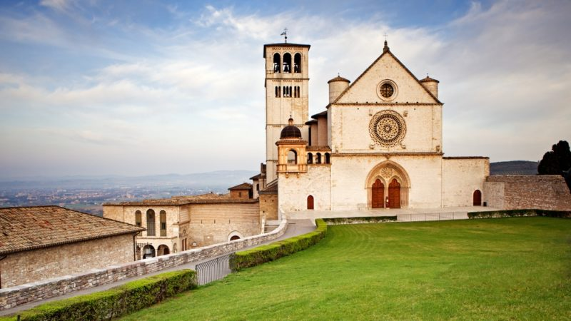 Basilica of St. Francis, assisi, rome