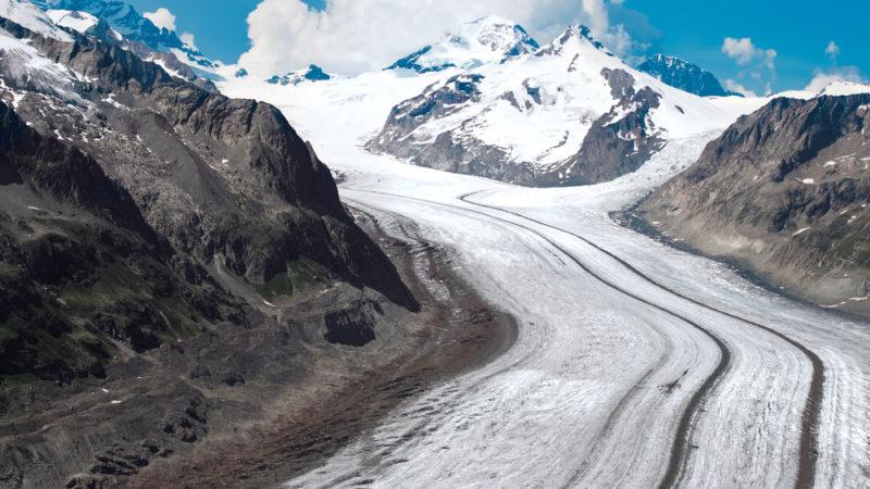 Aletsch Glacier Switzerland