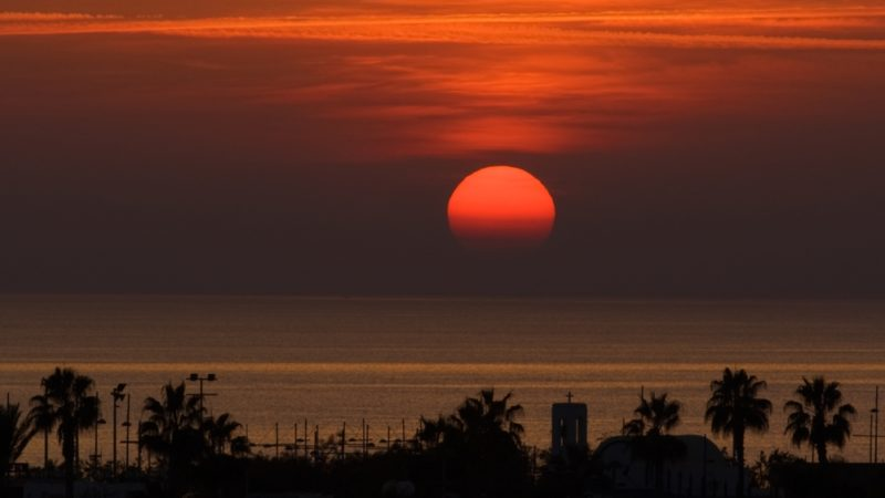 Ayia Napa, cyprus sunset