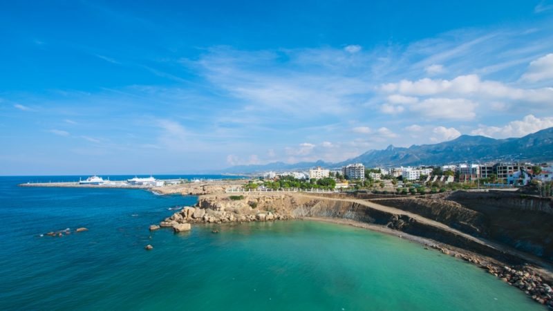 Escape Beach, Kyrenia, cyprus