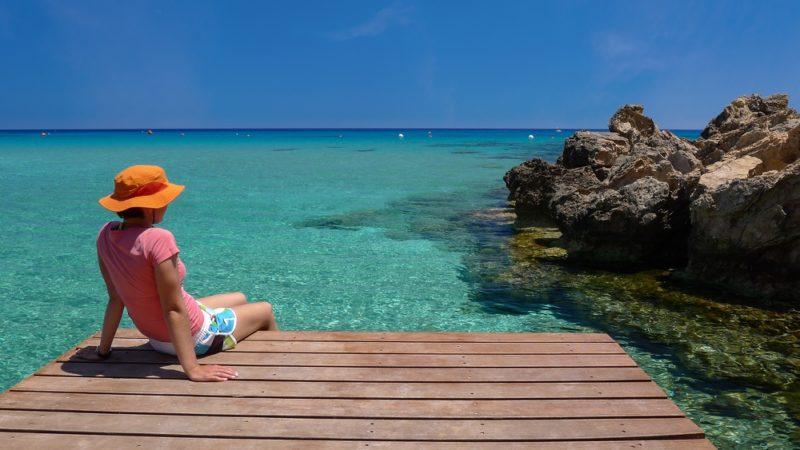 Konnos Bay, Cape Greco, cyprus