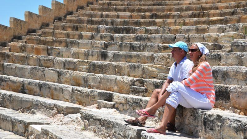 Kourion's amphiteater. Cyprus
