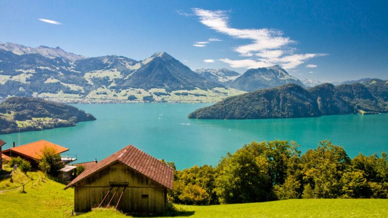 Lake Lucerne Switzerland
