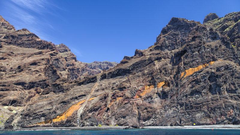 Los Gigantes Cliffs Tenerife