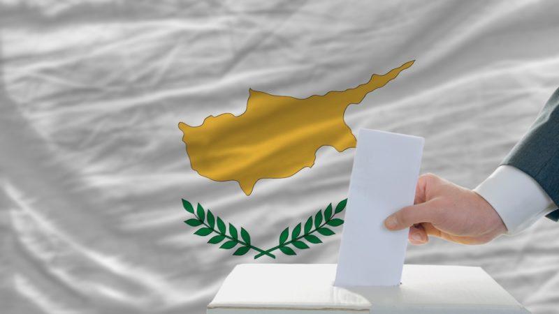 man voting cyprus