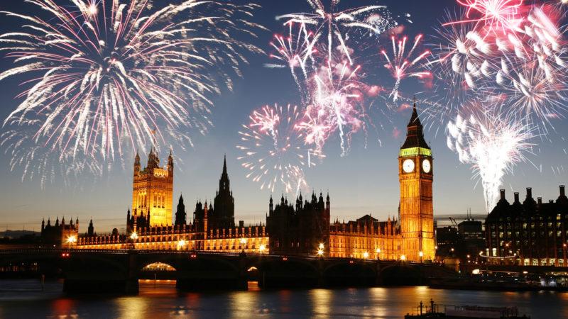 London England Fireworks