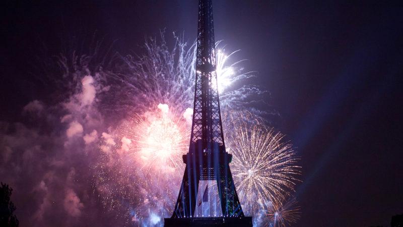 Paris France Fireworks
