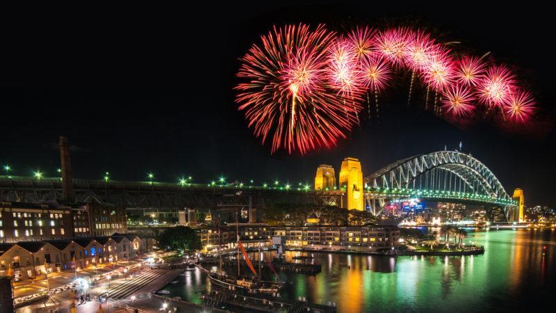 Sydney Australia Fireworks