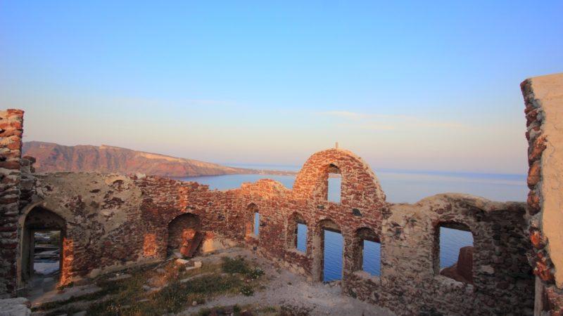 Castle Ruins, Oia