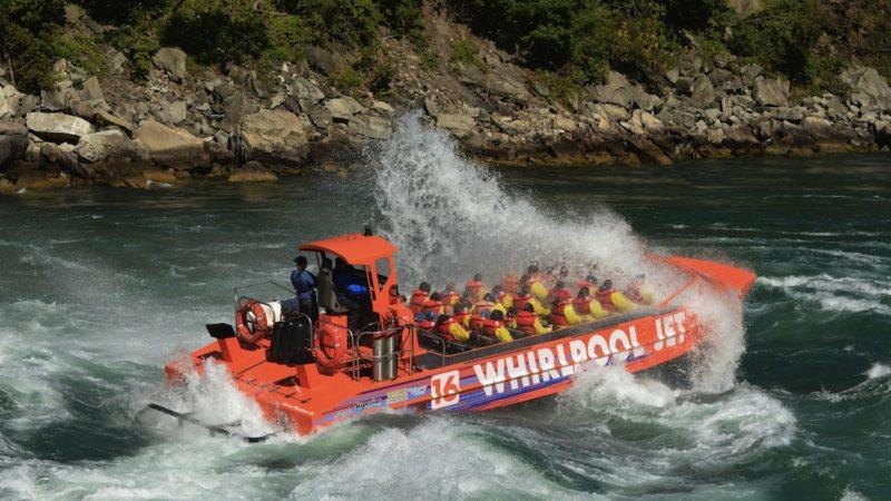 Whirlpool Jet boat