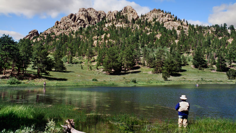 Rocky Mountain National Park Fishing