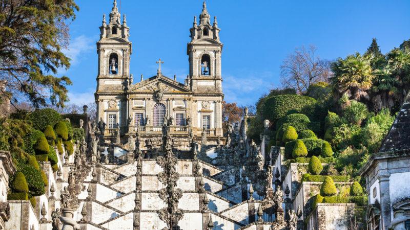 Bom Jesus do Monte Monastery, Braga, Portugal.