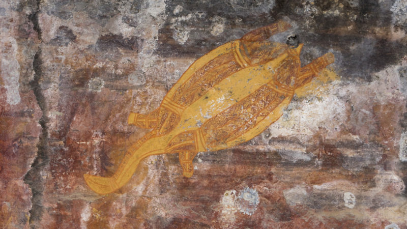 Aboriginal Rock Art, Photo by: Peter Eve & Tourism NT