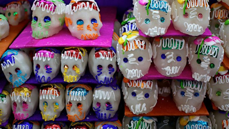 candy sugar skulls