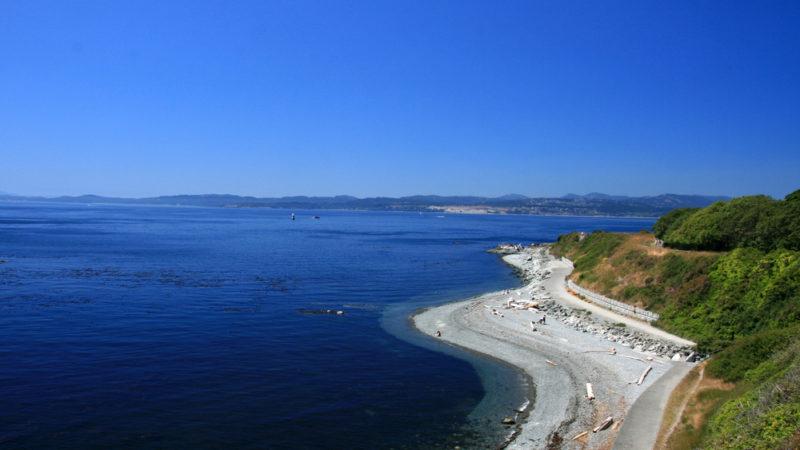 Victoria coast line