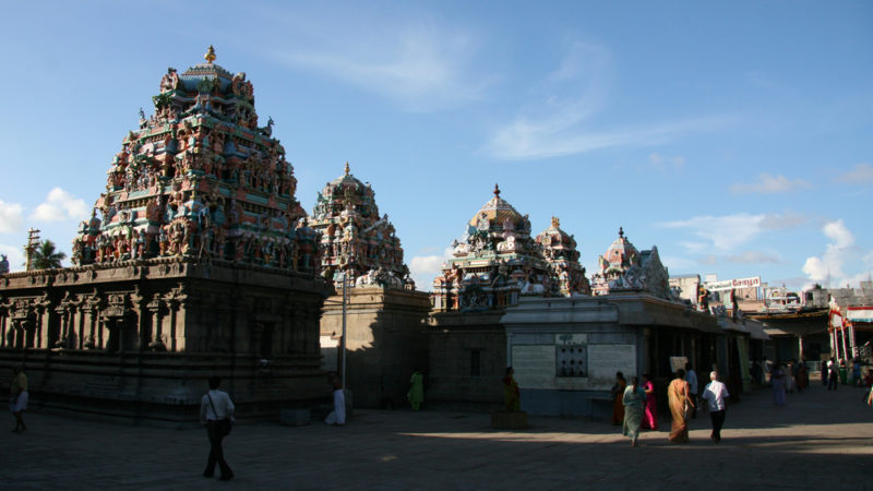 Kapaleeshwar Tample, Chennai India