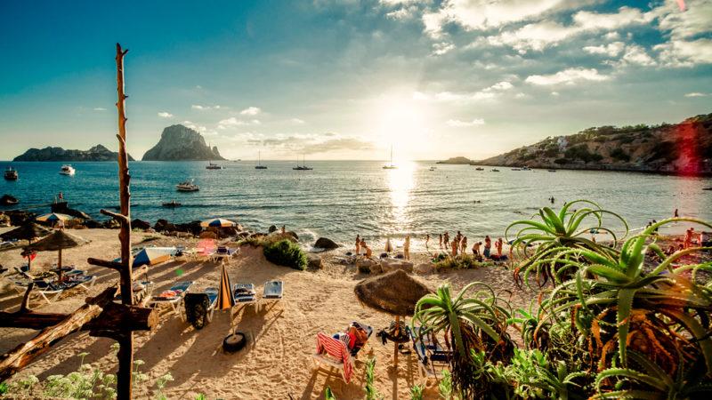 Beach party Ibiza, Spain
