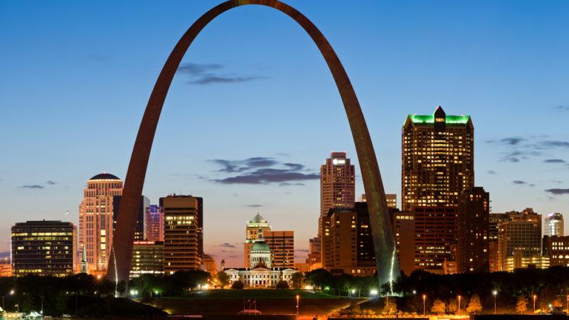 St Louis at night