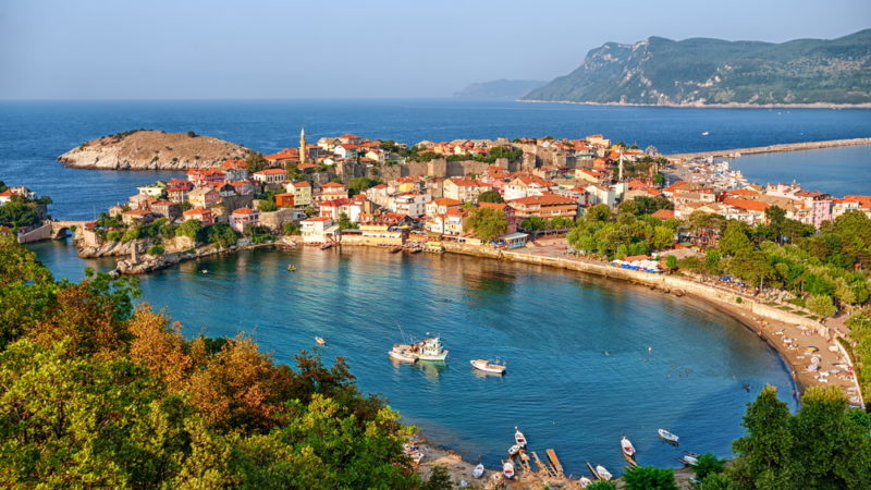 Amasra town Turkey