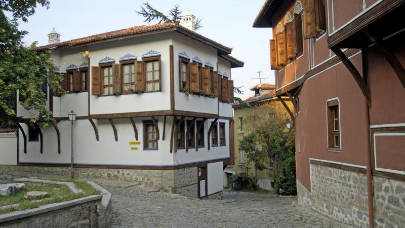 Cobbled Street Plovdiv