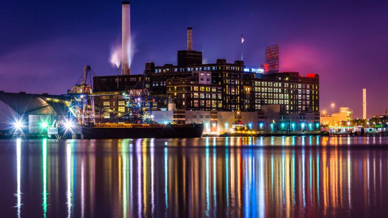 Domino Sugar Factory Baltimore