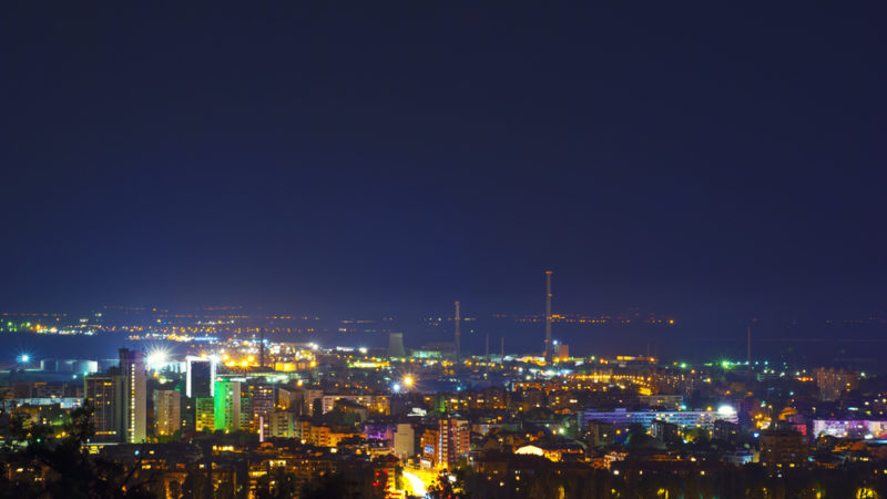 Plovdiv at Night