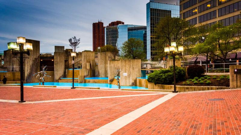 Walter Sondheim Fountain Baltimore
