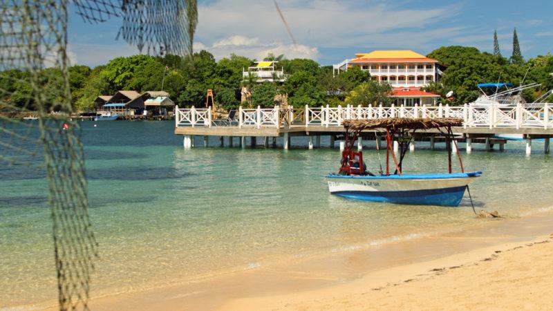 West End Beach, Roatan, Honduras