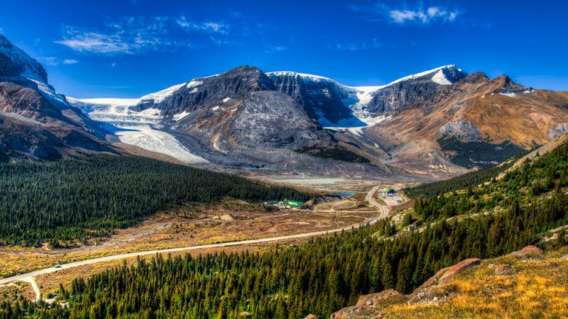 Columbia ice fields Jasper National Park