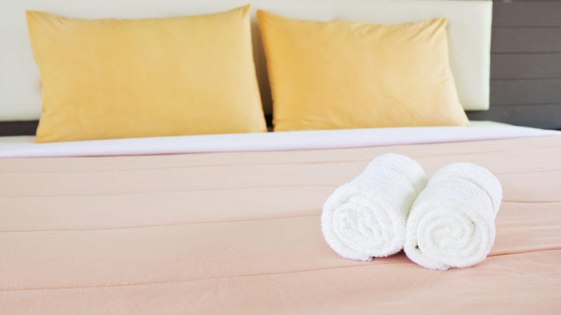 Hotel Bed and linens