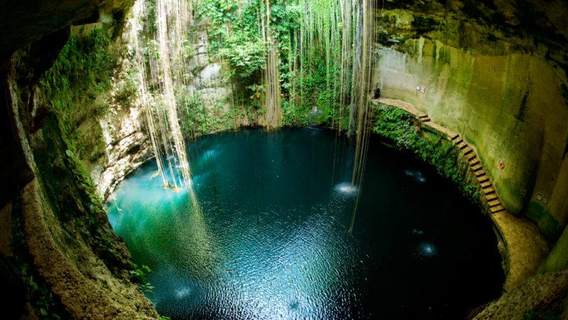 Ik-Kil Cenote Mexico