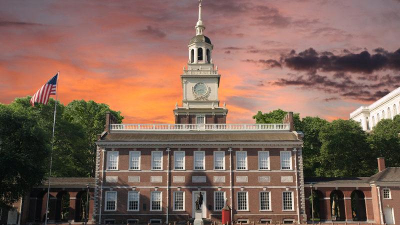 Independence Hall Philladelphia Historic Site
