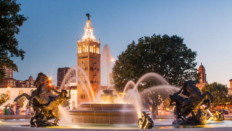 J.C. Nichols Memorial Fountain Kansas City