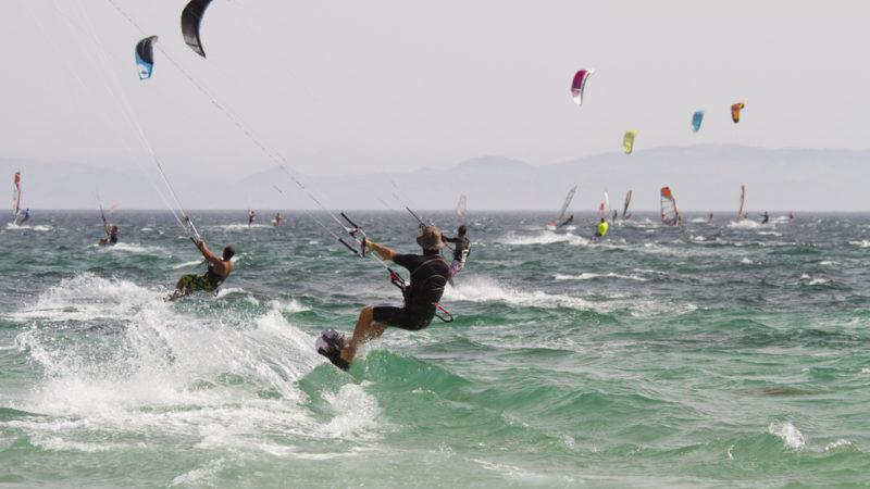 Kitesurfing Tarifa, Spain