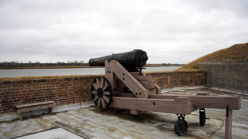 Old Fort Jackson Savannah