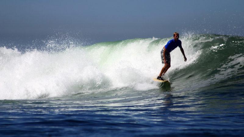 Surfing Troncones Mexico